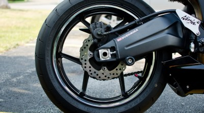 Kawasaki Ninja 600 Chrome Wheel picture