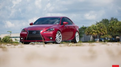 Lexus IS 350 red Wallpaper