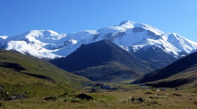Mount Elbrus at west side
