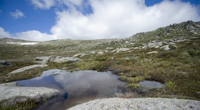 Wallpaper Mount Kosciuszko lake HD for PC