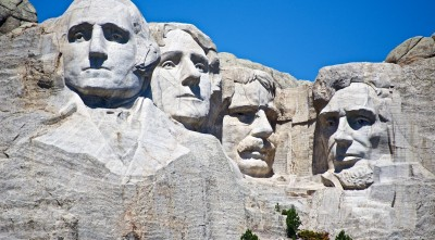 Beautiful Mount Rushmore USA