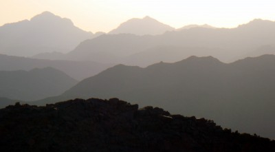 Mount Sinai morning wallpaper