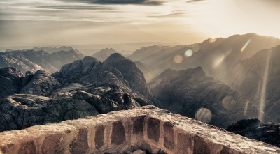 Mount Sinai Israel bible Desktop Background