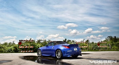 Blue Nissan 350z Roadster Wallpapers HD 3