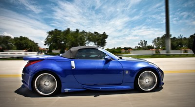 Nissan 350z Roadster Desktop Background motion