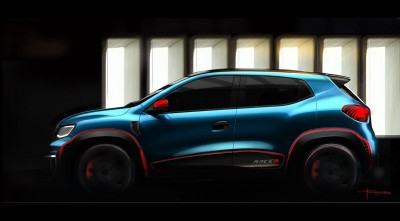Renault Kwid Racer 2016 Side HD Wallpaper for Desktop