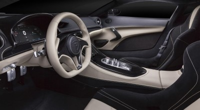Rimac Concept One 2016 Interior Desktop Background