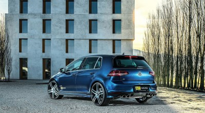 Volkswagen Golf 7 R 2016 Rear Wallpaper High Quality