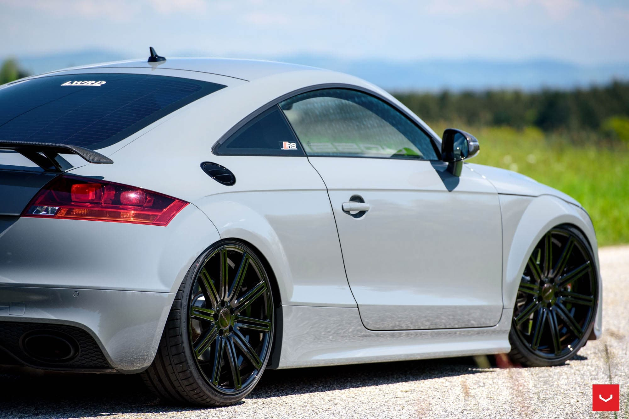 Audi TT RS Tuning Wallpapers HD Sport, Vossen Wheels
