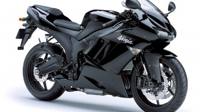 Black 2014 Kawasaki Ninja 600 Wallpaper HD