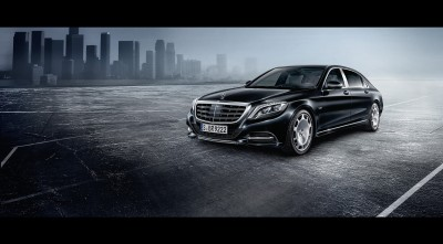 black 2016 Mercedes-Maybach S600 Guard HD Wallpaper for Desktop
