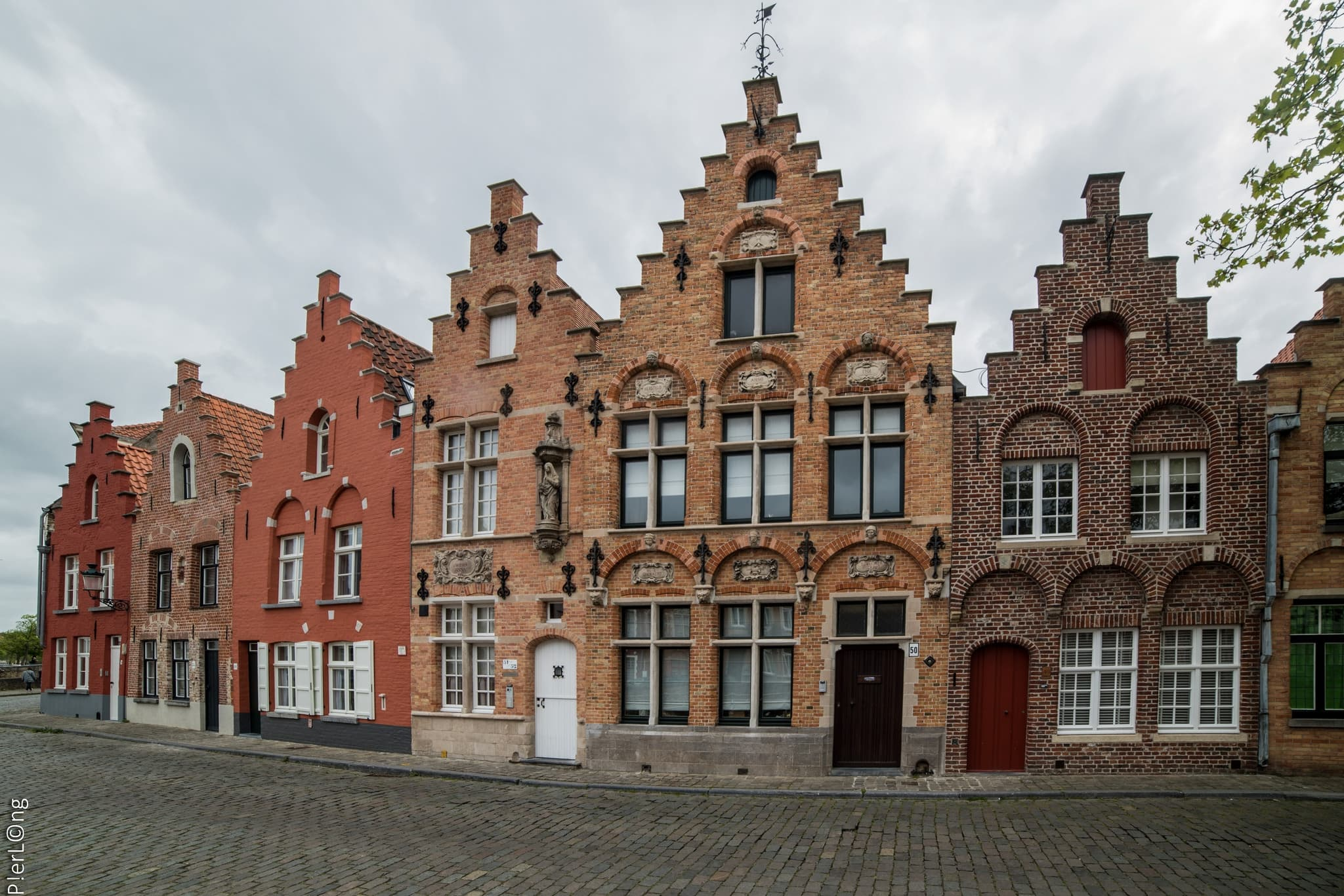 Bruges Belgium Maisons Brugeoises HD Wallpapers Widescreen