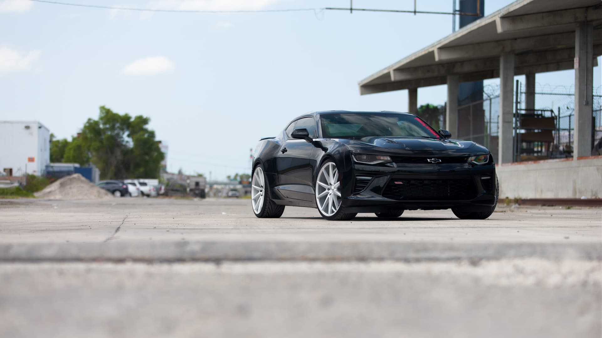 Chevy Camaro SS 2016 Wallpapers HD 3