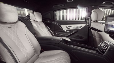 interior 2016 Mercedes-Maybach S600 Guard Wallpapers HD