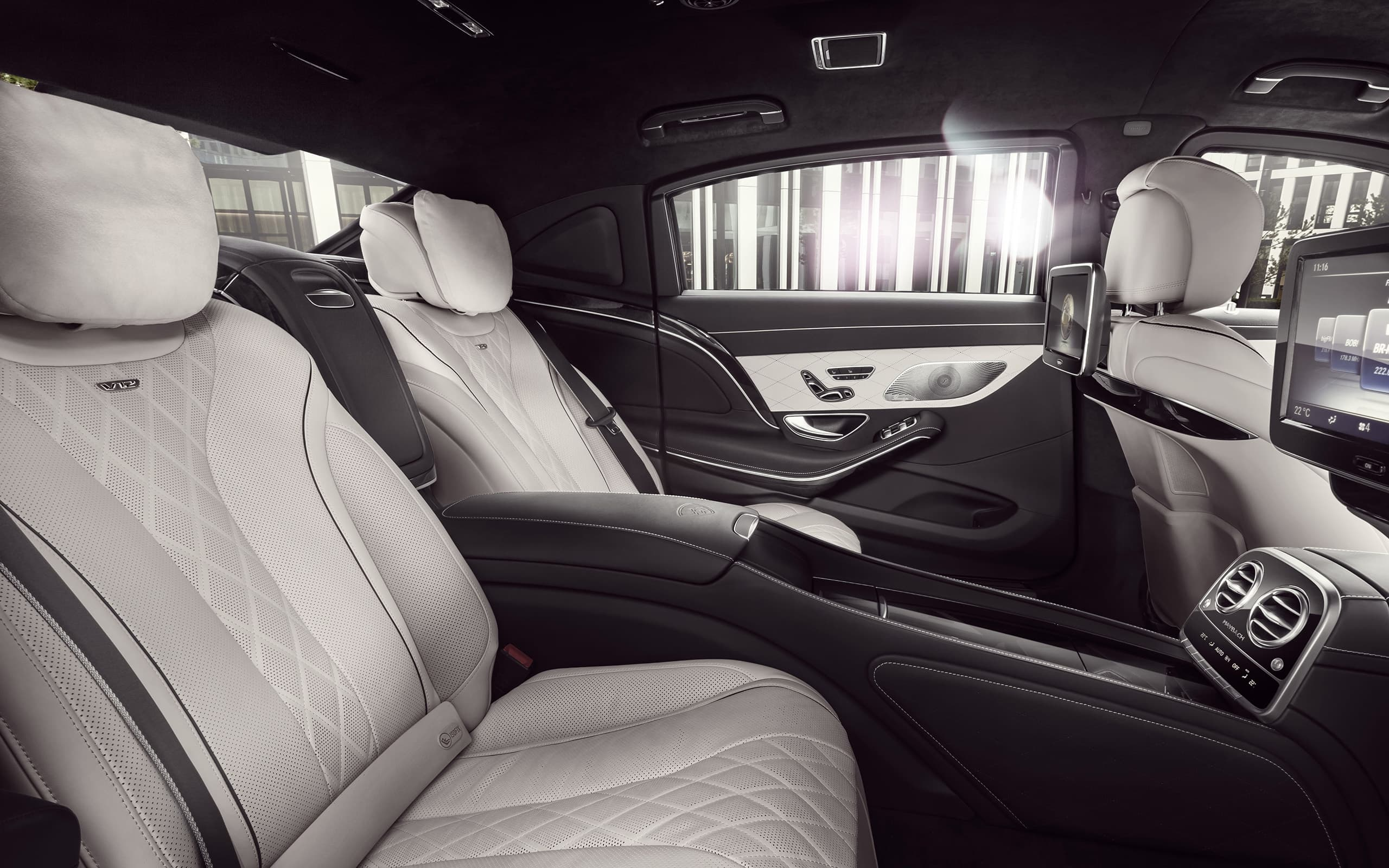 interior 2016 mercedes maybach s600 guard wallpapers hd