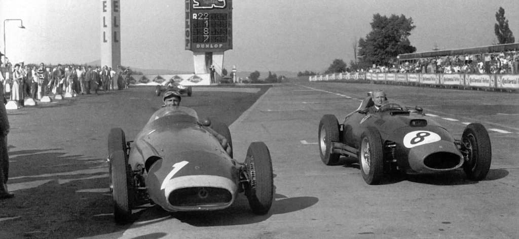 Juan Manuel Fangio And Mike Hawthorn High Quality Wallpapers