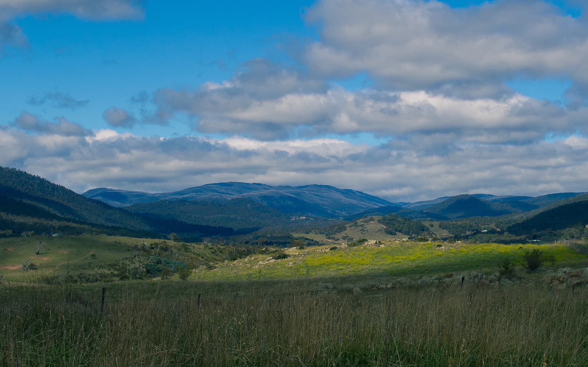 Mount Kosciuszko Australia Widescreen Wallpaper