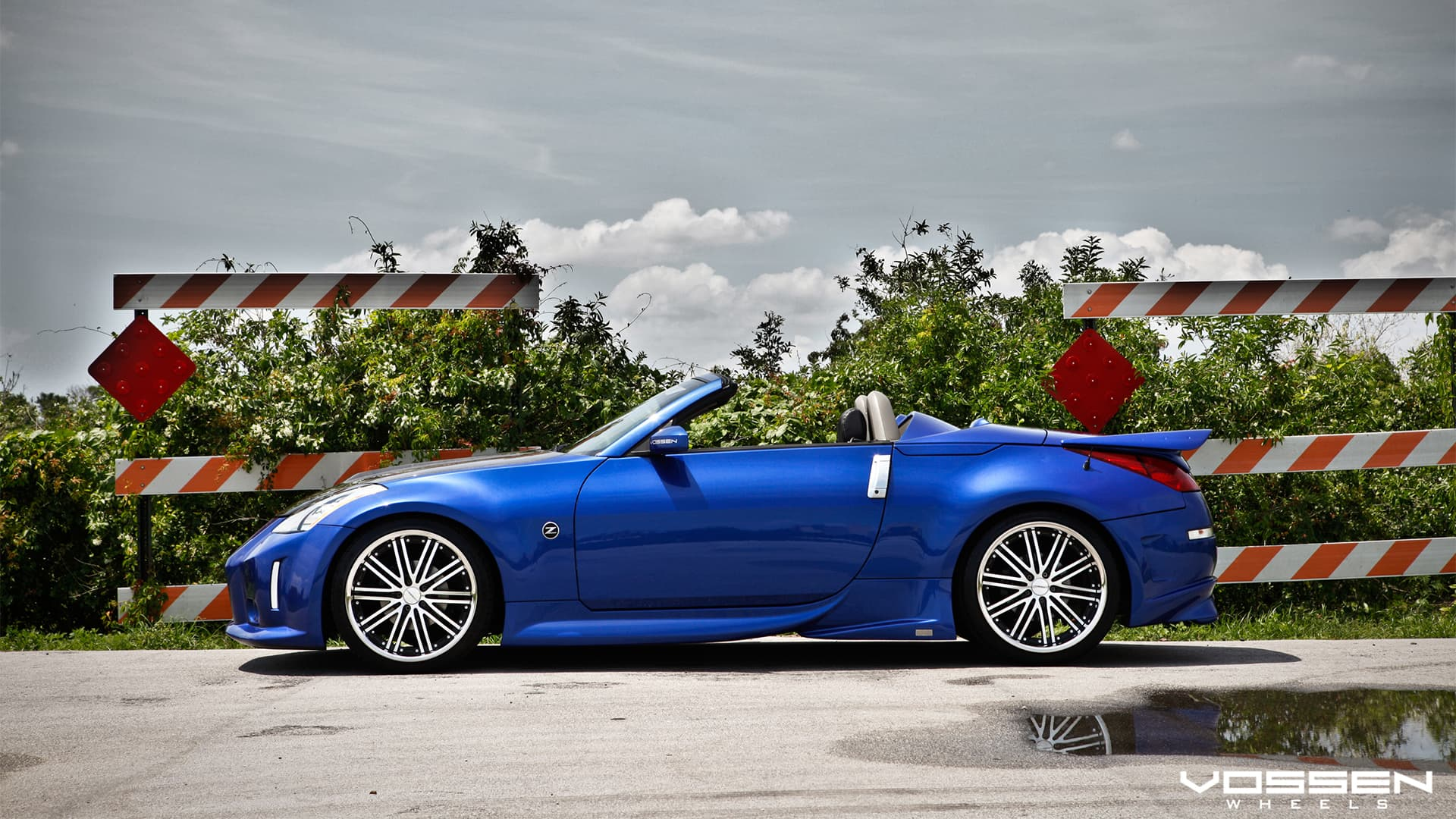 Nissan Z Roadster Wallpapers Hd Convertible Blue Silver Black