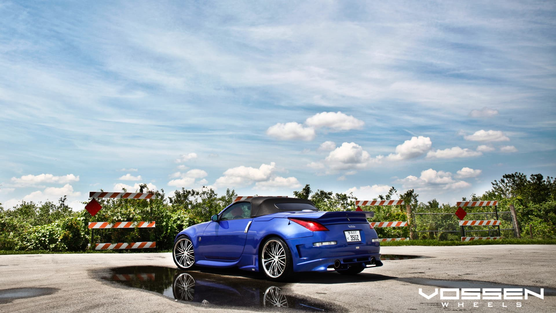 Nissan 350z Roadster Wallpapers HD Convertible, Blue