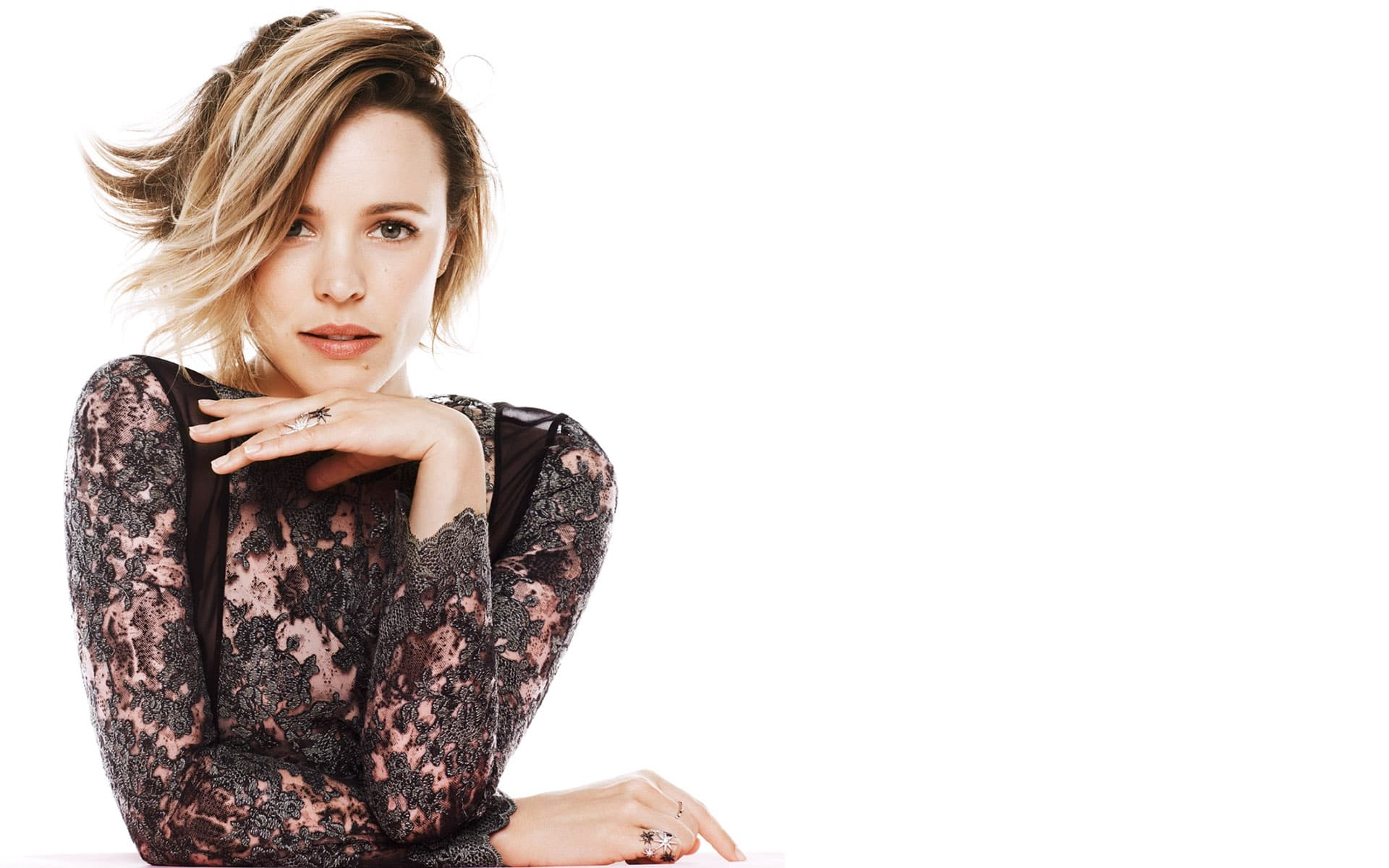 Rachel McAdams white Wallpapers in HD