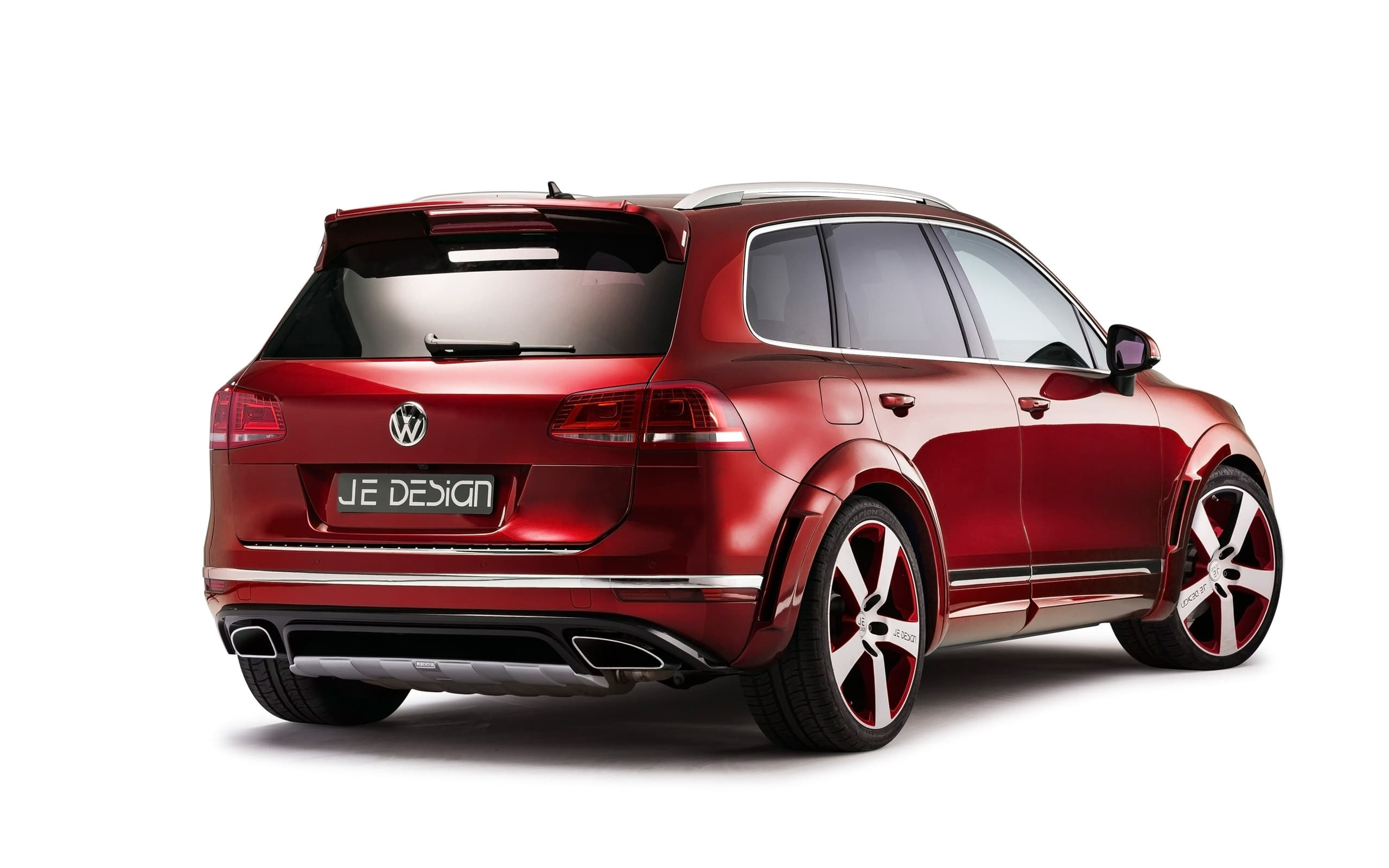Volkswagen Touareg 2017 R Line Rear High Quality Wallpapers