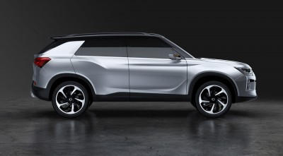 HD 2016 SsangYong SIV 2 Concept Side View Wallpaper for Desktop