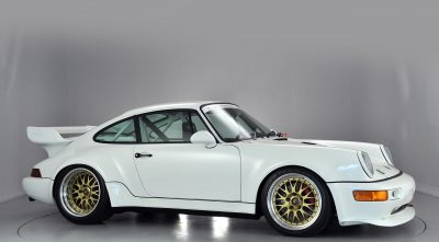 wallpapers of 1993 Porsche 911 Carrera RSR white for desktop