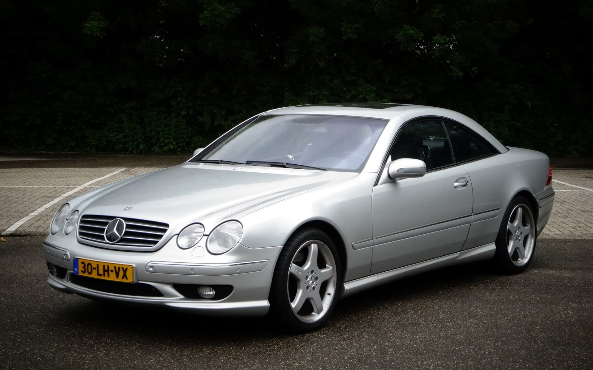 2001 Mercedes-Benz CL 63 AMG grey High Resolution wallpapers