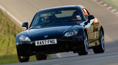 black 2003 Honda S2000 HQ wallpaper