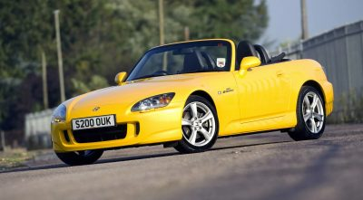 yellow 2003 Honda S2000 desktop Wallpaper