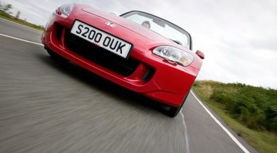 red 2003 Honda S2000 wallpapers