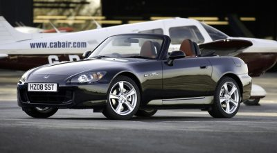2003 Honda S2000 black widescreen wallpaper