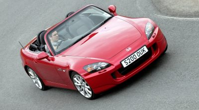 wallpapers of 2003 Honda S2000 red for desktop