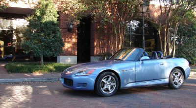 2003 Honda S2000 wheels