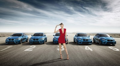 2016 BMW M2 Coupe Gigi Hadid HD wallpaper
