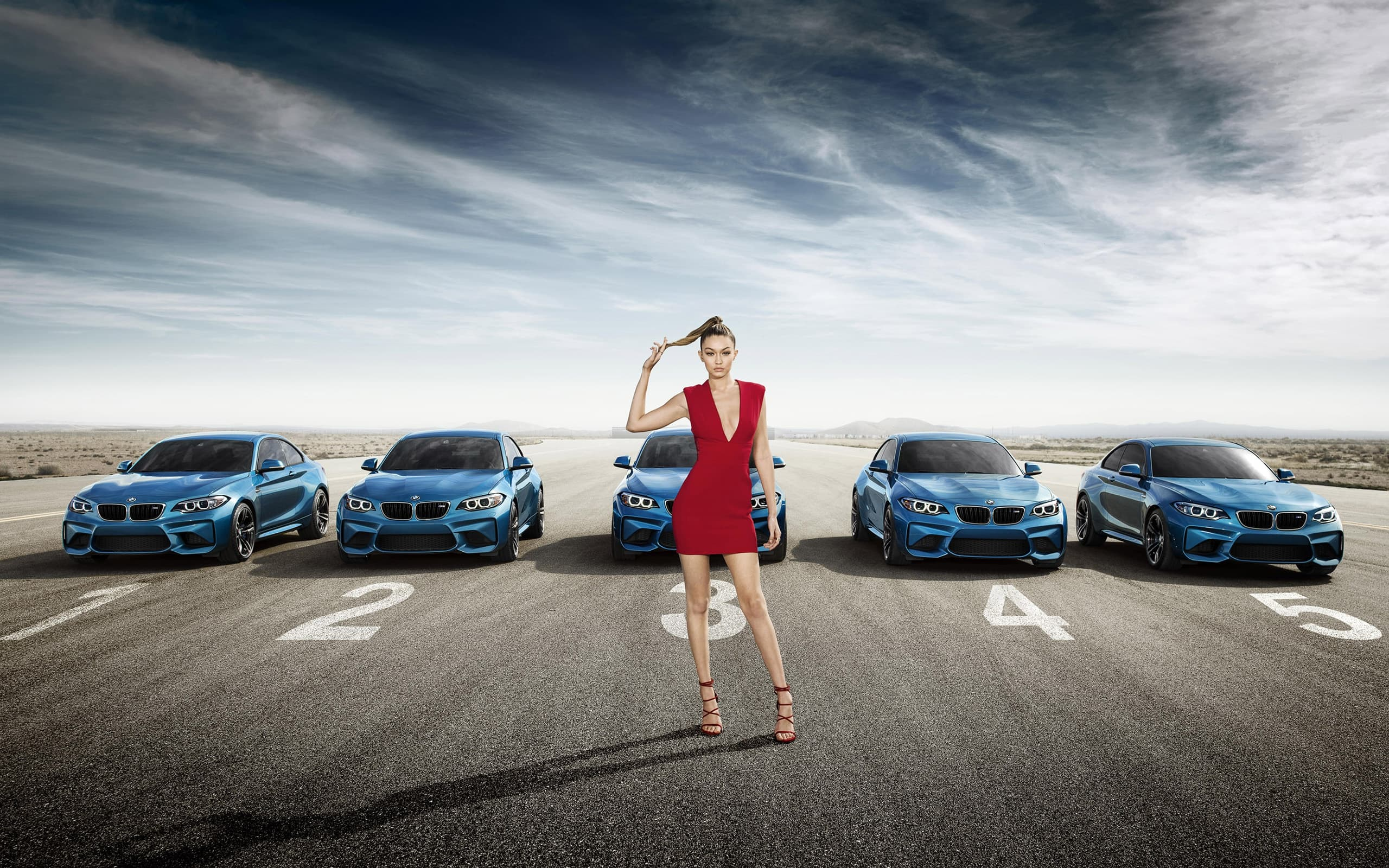 2016 Bmw M2 Coupe Gigi Hadid Wallpapers Hd High Quality