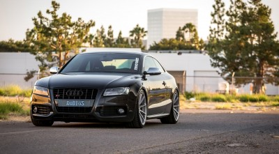 Audi B8 S5 2016 Headlights High Resolution