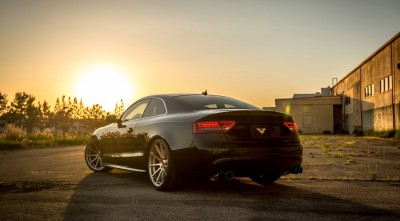 Wallpaper HD Audi B8 S5 2016 Sunset for desktop