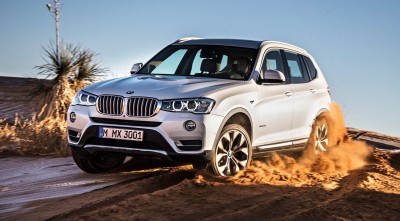 BMW X3 2017 4x4 HD wallpaper