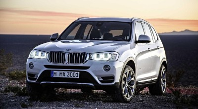 Wallpaper of BMW X3 2017 White
