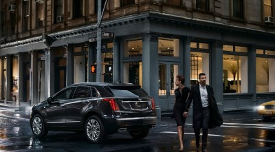 Cadillac XT5 2017 background