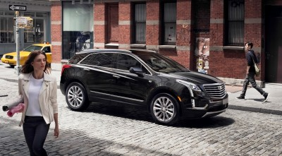 HD Cadillac XT5 2017 Black wallpapers High Quality