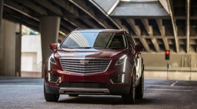 Cadillac XT5 2017 Front wallpapers High Resolution