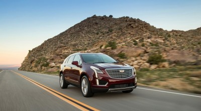 Cadillac XT5 2017 Speed HD images