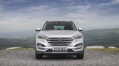 Hyundai Tucson 2016 UK Version new pics
