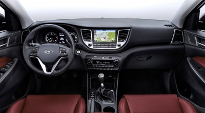 Hyundai Tucson 2016 Leather Interior
