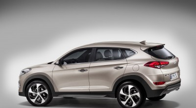 Hyundai Tucson 2016 Side