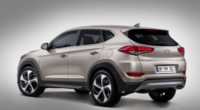 Hyundai Tucson 2016 Wheels