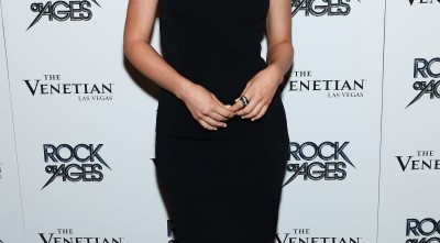 Julianne Hough Black Dress