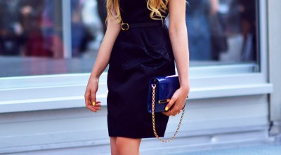 Kristina Bazan Dress, Handbag